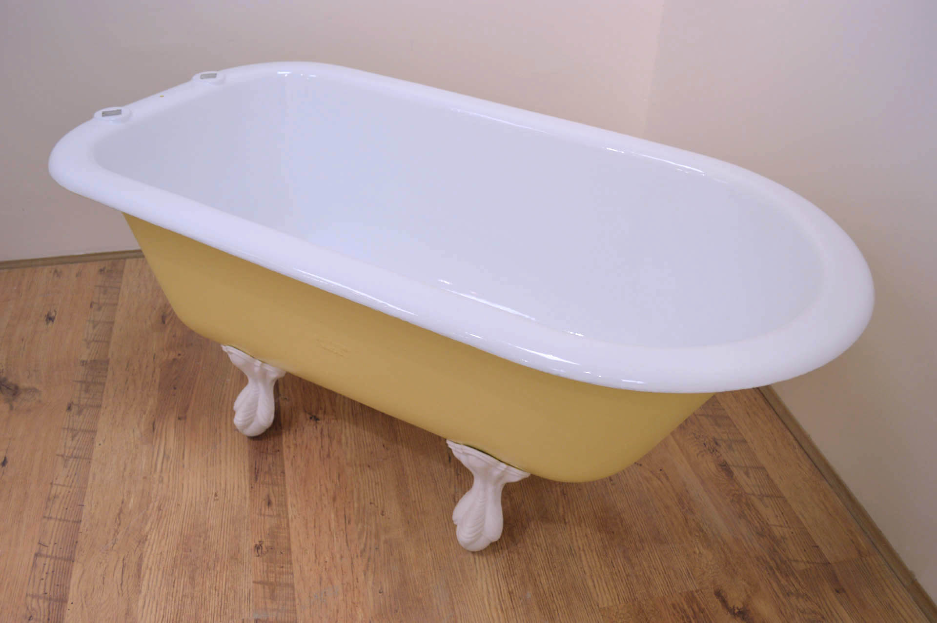 Cast Iron Bath for Sale - Shanks Child Bath - Dayroom Yellow